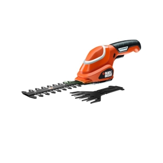 BLACK&DECKER  Akumulatorowy zestaw no¿yc do trawy i do ¿ywop³otu 7 V (1 akumulator) GSL700